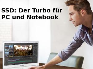 120 GB-SSD-Umrüstung inkl. Datenübernahme für PC und Notebook